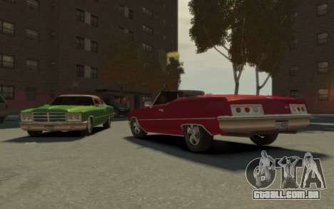 GTA 3 Yardie Lobo HD para GTA 4 vista interior