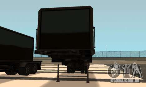 PS2 Article Trailer para GTA San Andreas vista interior