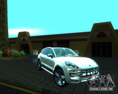 Porsche Macan Turbo para GTA San Andreas vista direita
