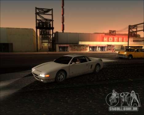ENB Kiseki v1 para GTA San Andreas por diante tela