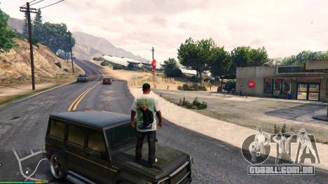 GTA 5 T-shirt para Franklin. - Fizruk sétima screenshot