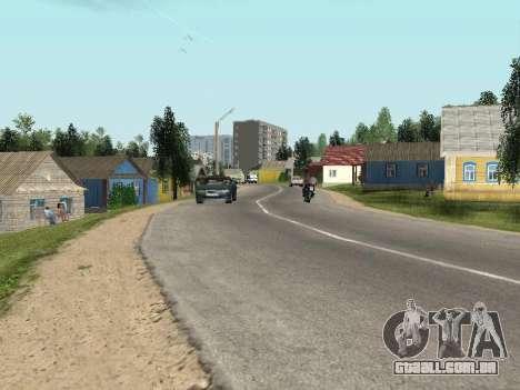 Prostokvashino para GTA Penal Rússia beta 2 para GTA San Andreas segunda tela