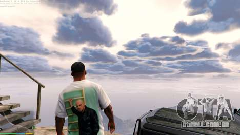 GTA 5 T-shirt para Franklin. - Fizruk segundo screenshot