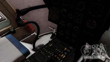 MBB BO-105 Basarnas para GTA San Andreas vista direita