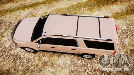 Chevrolet Suburban LTZ 2015 para GTA 4 vista direita