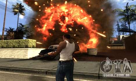 ENB Double Effect para GTA San Andreas quinto tela