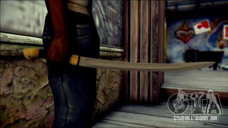 Red Army Shashka para GTA San Andreas terceira tela