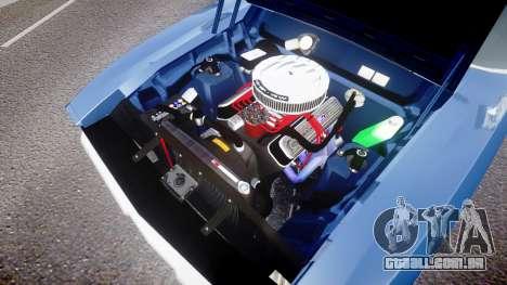 Ford Falcon XB GT351 Coupe 1973 para GTA 4 vista de volta