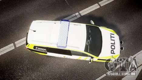 Volkswagen Passat B7 Police 2015 [ELS] marked para GTA 4 vista direita