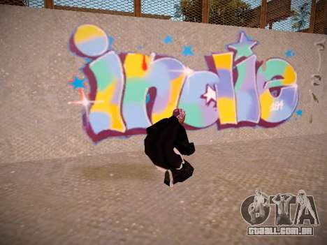 ENB Real Monsters para GTA San Andreas quinto tela