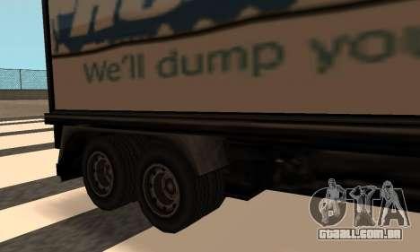 PS2 Article Trailer para GTA San Andreas esquerda vista