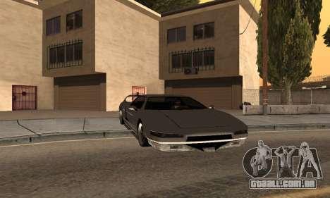 Infernus BanDit para GTA San Andreas esquerda vista
