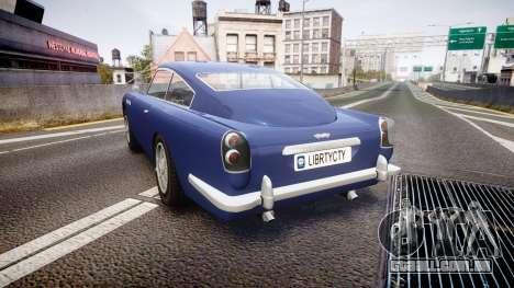 GTA V Dewbauchee JB 700 para GTA 4 traseira esquerda vista
