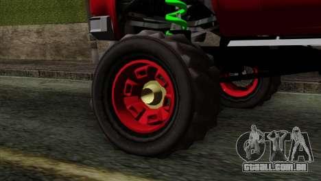 Bobcat Fx4 para GTA San Andreas traseira esquerda vista