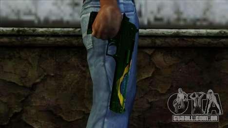 Desert Eagle Brazil para GTA San Andreas terceira tela