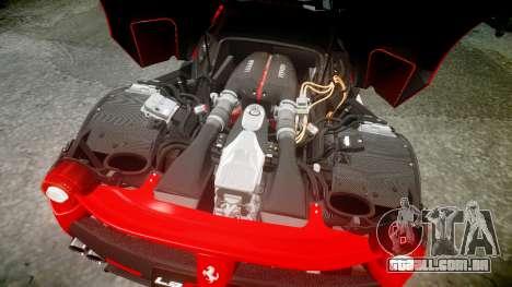 Ferrari LaFerrari 2013 HQ [EPM] PJ3 para GTA 4 vista superior