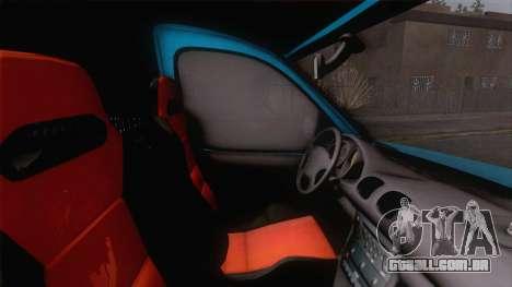 Renault Kangoo 2004 para GTA San Andreas vista traseira