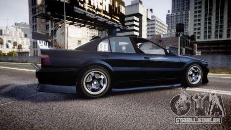 Maibatsu Vincent 16V Drift para GTA 4 esquerda vista