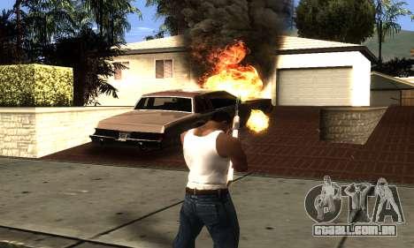 ENB Double Effect para GTA San Andreas por diante tela