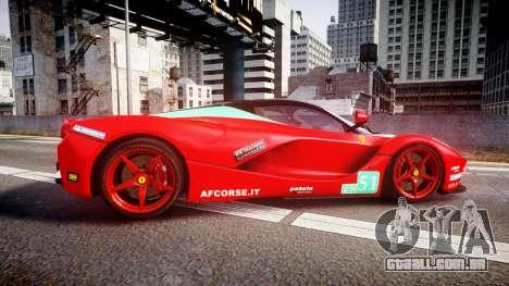 Ferrari LaFerrari 2013 HQ [EPM] PJ4 para GTA 4 esquerda vista