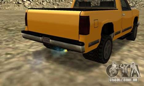 PS2 Yosemite para GTA San Andreas vista interior