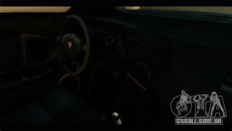 GTA 4 Habanero para GTA San Andreas traseira esquerda vista