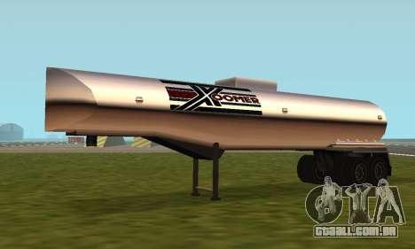 PS2 Petrol Trailer para GTA San Andreas