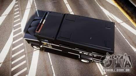 GTA V Brute Police Riot [ELS] skin 5 para GTA 4 vista direita