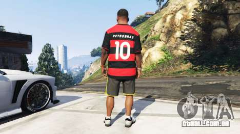 GTA 5 Flamengo T-Shirt - Camisa do Flamengo de 2000-01 terceiro screenshot
