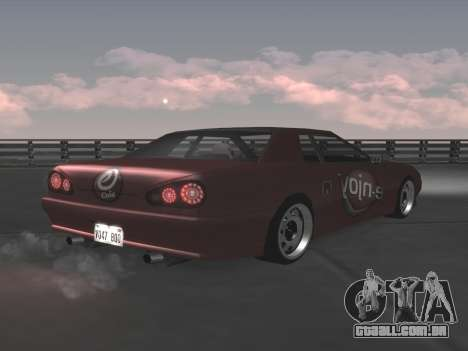 Elegy Paintjobs para GTA San Andreas vista superior