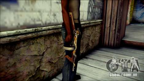 Thompson Infernal Dragon CrossFire para GTA San Andreas terceira tela