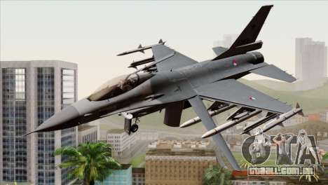 F-16AM Fighting Falcon para GTA San Andreas