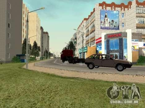 Prostokvashino para GTA Penal Rússia beta 2 para GTA San Andreas sexta tela