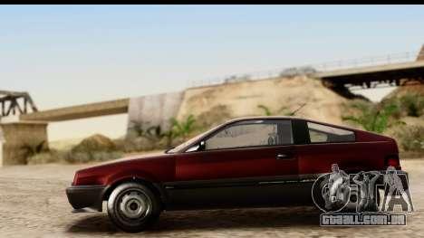 GTA 5 Dinka Blista Compact para GTA San Andreas vista traseira