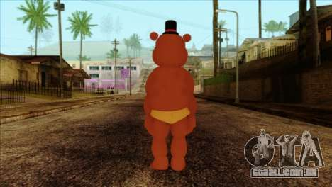 Toy Freddy from Five Nights at Freddy 2 para GTA San Andreas segunda tela