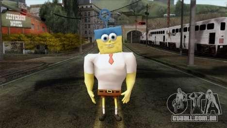 Spongebob as Mr.Invincibubble para GTA San Andreas