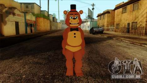 Toy Freddy from Five Nights at Freddy 2 para GTA San Andreas