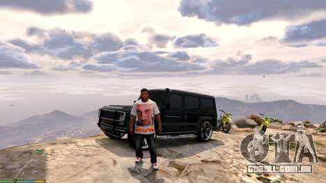 GTA 5 T-shirt para Franklin. - Fizruk quarto screenshot