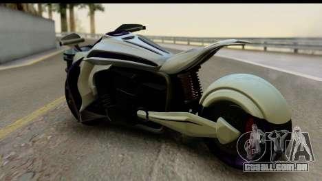 Krol Taurus Concept HD A.D.O.M v1.0 para GTA San Andreas esquerda vista