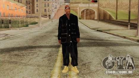 Tupac Shakur Skin v1 para GTA San Andreas