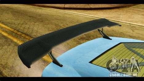 GTA 5 Ocelot F620 IVF para GTA San Andreas vista traseira