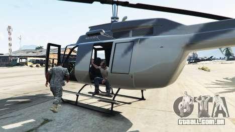 GTA 5 Táxi aéreo segundo screenshot