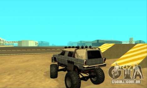 Hellish Extreme CripVoz RomeRo 2015 para GTA San Andreas vista inferior