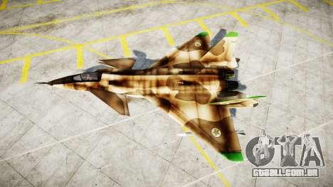 O MiG 1.44 IFM para GTA 4 esquerda vista