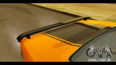 GTA 5 Declasse Sabre GT Turbo IVF para GTA San Andreas vista traseira