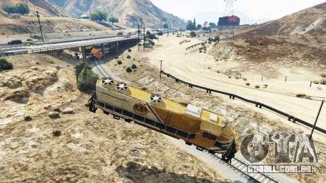GTA 5 Engenheiro de estrada de ferro v2.5 terceiro screenshot