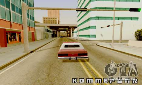 Light ENB Series v3.0 para GTA San Andreas por diante tela