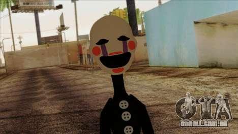Puppet from Five Nights at Freddy 2 para GTA San Andreas terceira tela
