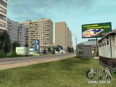 Prostokvashino para GTA Penal Rússia beta 2 para GTA San Andreas terceira tela