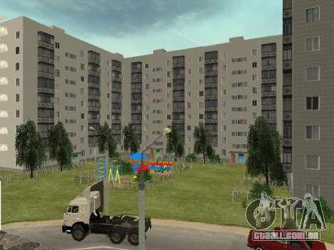 Prostokvashino para GTA Penal Rússia beta 2 para GTA San Andreas quinto tela